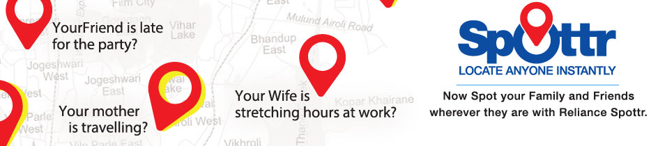 Spottr homepage image having statements like Your wife is stretching hours at work?